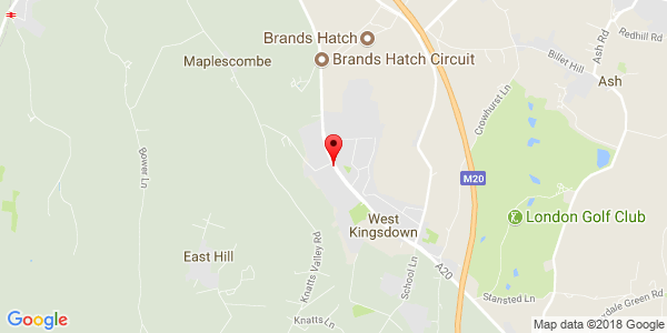 Google Map of 8 Clearways Business Estate London Road West Kingsdown Kent, TN15 6ES